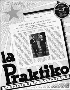 La Praktiko : la gazeto, kiu instruas kaj amuzas. Jaro 25a, nr 11=289 (1961)