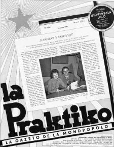 La Praktiko : la gazeto, kiu instruas kaj amuzas. Jaro 26a, nr 1=291 (1962)
