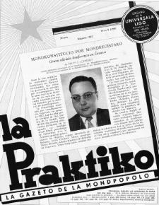 La Praktiko : la gazeto, kiu instruas kaj amuzas. Jaro 26a, nr 8=298 (1962)