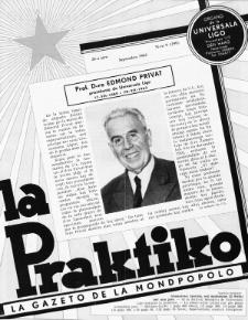La Praktiko : la gazeto, kiu instruas kaj amuzas. Jaro 26a, nr 9=299 (1962)