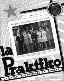 La Praktiko : la gazeto, kiu instruas kaj amuzas. Jaro 32a, nr 10=372 (1968)