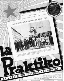 La Praktiko : la gazeto, kiu instruas kaj amuzas. Jaro 32a, nr 12=374 (1968)