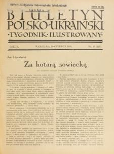 Biuletyn Polsko-Ukraiński. T. 4, R. 4, nr 26=113 (30 Czerwca 1935)