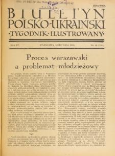 Biuletyn Polsko-Ukraiński. T. 4, R. 4, nr 49=136 (8 Grudnia 1935)
