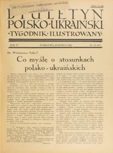 Biuletyn Polsko-Ukraiński. T. 4, R. 4, nr 10=97 (10 Marca 1935)