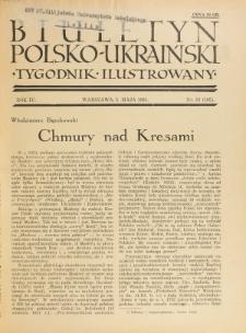 Biuletyn Polsko-Ukraiński. T. 4, R. 4, nr 18=105 (5 Maja 1935)