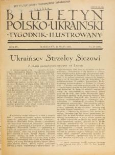 Biuletyn Polsko-Ukraiński. T. 4, R. 4, nr 19=106 (12 Maja 1935)