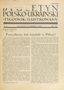 Biuletyn Polsko-Ukraiński. T. 2, R. 2, nr 29 (19 Listopada 1933)