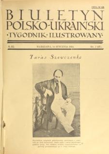 Biuletyn Polsko-Ukraiński. T. 3, R. 3, nr 2=37 (14 Stycznia 1934)