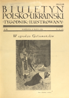 Biuletyn Polsko-Ukraiński. T. 3, R. 3, nr 13=48 (31 Marca 1934)