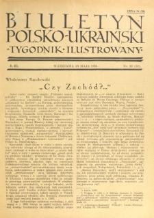 Biuletyn Polsko-Ukraiński. T. 3, R. 3, nr 20=55 (20 Maja 1934)