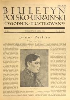 Biuletyn Polsko-Ukraiński. T. 3, R. 3, nr 21=56 (27 Maja 1934)