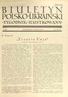 Biuletyn Polsko-Ukraiński. T. 3, R. 3, nr 30=65 (29 Lipca 1934)