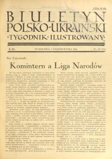 Biuletyn Polsko-Ukraiński. T. 3, R. 3, nr 40=75 (7 Października 1934)
