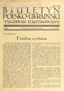 Biuletyn Polsko-Ukraiński. T. 3, R. 3, nr 45=80 (11 Listopada 1934)