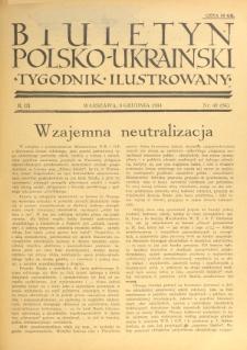 Biuletyn Polsko-Ukraiński. T. 3, R. 3, nr 49=84 (9 Grudnia 1934)