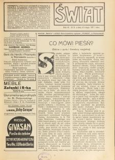 Świat : pismo tygodniowe ilustrowane poświęcone życiu społecznemu, literaturze i sztuce. R. 6 (1911), nr 5 (4 lutego)