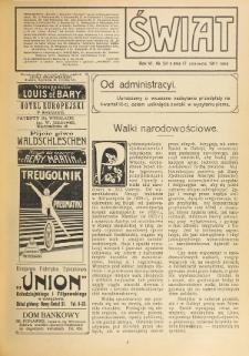 Świat : pismo tygodniowe ilustrowane poświęcone życiu społecznemu, literaturze i sztuce. R. 6 (1911), nr 24 (17 czerwca)
