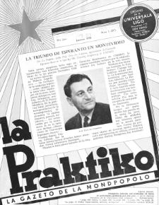 La Praktiko : la gazeto, kiu instruas kaj amuzas. Jaro 19a, nr 1=207 (1955)