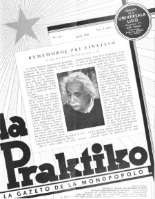 La Praktiko : la gazeto, kiu instruas kaj amuzas. Jaro 19a, nr 4=210 (1955)