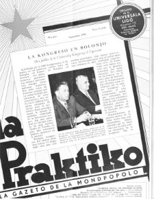 La Praktiko : la gazeto, kiu instruas kaj amuzas. Jaro 19a, nr 9=215 (1955)