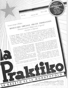 La Praktiko : la gazeto, kiu instruas kaj amuzas. Jaro 20a, nr 2=220 (1956)