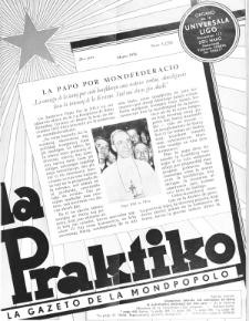 La Praktiko : la gazeto, kiu instruas kaj amuzas. Jaro 20a, nr 3=221 (1956)