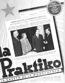 La Praktiko : la gazeto, kiu instruas kaj amuzas. Jaro 20a, nr 9=227 (1956)