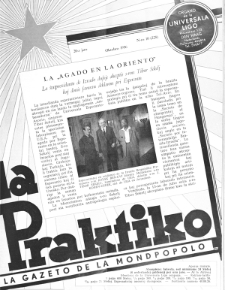 La Praktiko : la gazeto, kiu instruas kaj amuzas. Jaro 20a, nr 10=228 (1956)
