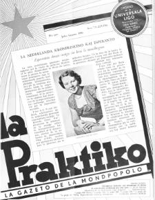 La Praktiko : la gazeto, kiu instruas kaj amuzas. Jaro 20a, nr 7/8=225/226 (1956)