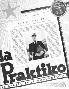 La Praktiko : la gazeto, kiu instruas kaj amuzas. Jaro 21a, nr 1=231 (1957)