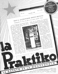 La Praktiko : la gazeto, kiu instruas kaj amuzas. Jaro 22a, nr 9=251 (1958)