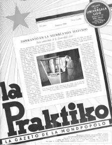 La Praktiko : la gazeto, kiu instruas kaj amuzas. Jaro 23a, nr 2=256 (1959)