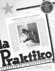 La Praktiko : la gazeto, kiu instruas kaj amuzas. Jaro 23a, nr 1=255 (1959)