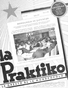 La Praktiko : la gazeto, kiu instruas kaj amuzas. Jaro 23a, nr 4=258 (1959)