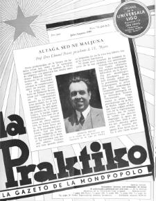 La Praktiko : la gazeto, kiu instruas kaj amuzas. Jaro 23a, nr 7/8=261/262 (1959)