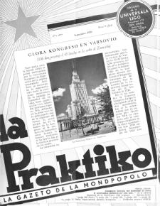 La Praktiko : la gazeto, kiu instruas kaj amuzas. Jaro 23a, nr 9=263 (1959)