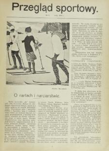 Przegląd Sportowy. Nr 2 (Luty 1913)