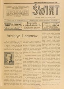 Świat : pismo tygodniowe ilustrowane poświęcone życiu społecznemu, literaturze i sztuce. R. 12 (1917), nr 5 (3 lutego)