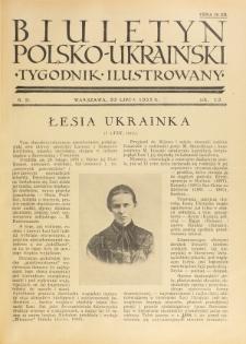 Biuletyn Polsko-Ukraiński. T. 2, R. 2, nr 12 (23 Lipca 1933)