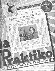 La Praktiko : la gazeto, kiu instruas kaj amuzas. Jaro 15a, nr 5/6=163/164 (1951)