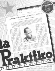La Praktiko : la gazeto, kiu instruas kaj amuzas. Jaro 24a, nr 5=271 (1960)