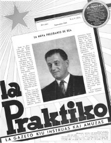 La Praktiko : la gazeto, kiu instruas kaj amuzas. Jaro 28a, nr 9=323 (1964)