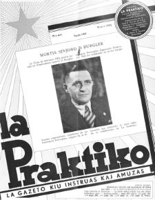 La Praktiko : la gazeto, kiu instruas kaj amuzas.Jaro 29a, nr 4=330 (1965)