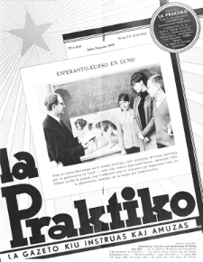 La Praktiko : la gazeto, kiu instruas kaj amuzas.Jaro 29a, nr 7/8=333/334 (1965)