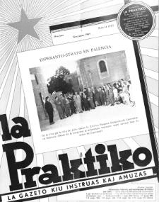 La Praktiko : la gazeto, kiu instruas kaj amuzas.Jaro 29a, nr 11=337 (1965)