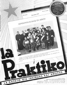 La Praktiko : la gazeto, kiu instruas kaj amuzas.Jaro 29a, nr 9=335 (1965)