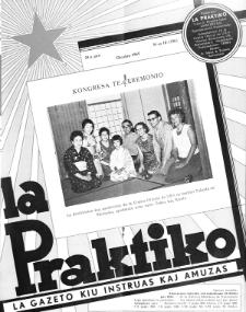 La Praktiko : la gazeto, kiu instruas kaj amuzas.Jaro 29a, nr 10=336 (1965)