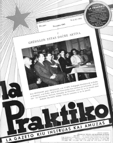 La Praktiko : la gazeto, kiu instruas kaj amuzas.Jaro 29a, nr 12=338 (1965)