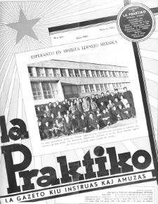 La Praktiko : la gazeto, kiu instruas kaj amuzas. Jaro 30a, nr 6=344 (1966)
